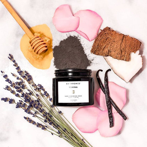 KAHINA: Lava Cleansing Mask by 54 THRONES