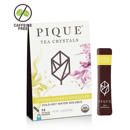 Organic Ginger Digestion Elixir by Pique Tea