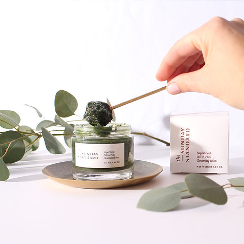 Superfood Oil-to-Milk Cleansing Balm by THE SUNDAY STANDARD