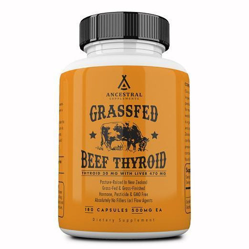 Grassfed Dessicated Thyroid by ANCESTRAL SUPPLEMENTS