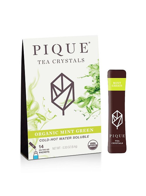 Organic Mint Green Tea by PIQUE TEA