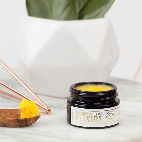24 KARAT GOLD  LUXE RESTORATIVE BALM by Precious Skin Elixirs