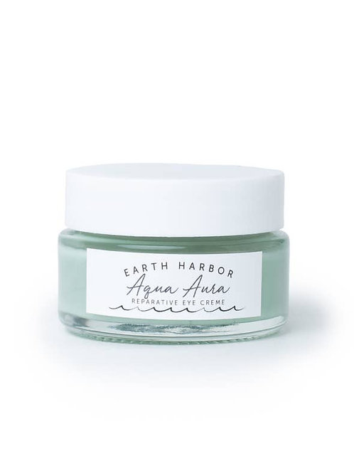 Aqua Aura Reparative Eye Cream: Blue Tansy and Sea Collagen by EARTH HARBOR