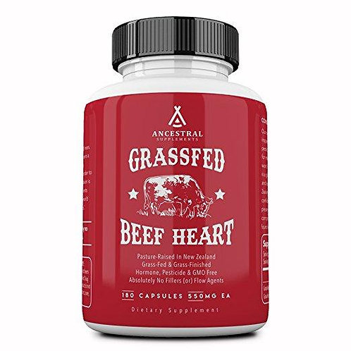 Grassfed Beef Heart by ANCESTRAL NUTRITION