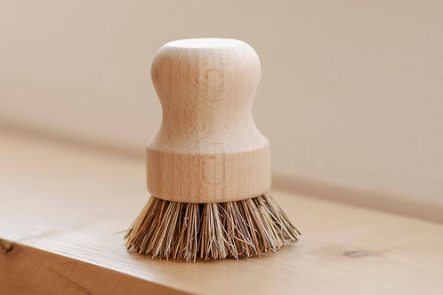 Pot Scrubber - White Teakwood & Plant Fiber By NO TOX LIFE