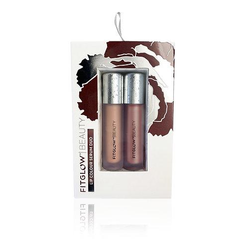 FITGLOW Lip Colour Serum Duo in BARE & GLEAM