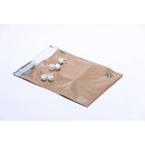 Biodegradable Prepaid Recycle Envelope by THREE MAIN
