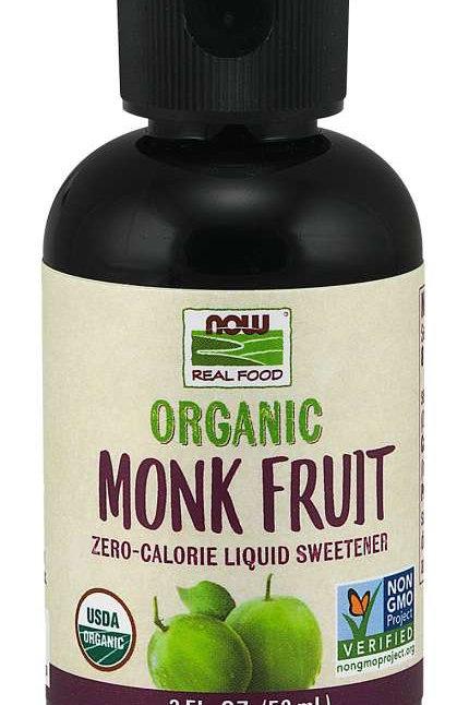 Organic Monkfruit Liquid by NOW FOODS