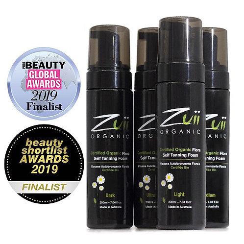 Certified Organic Flora Self Tanning Foam by ZUII ORGANICS