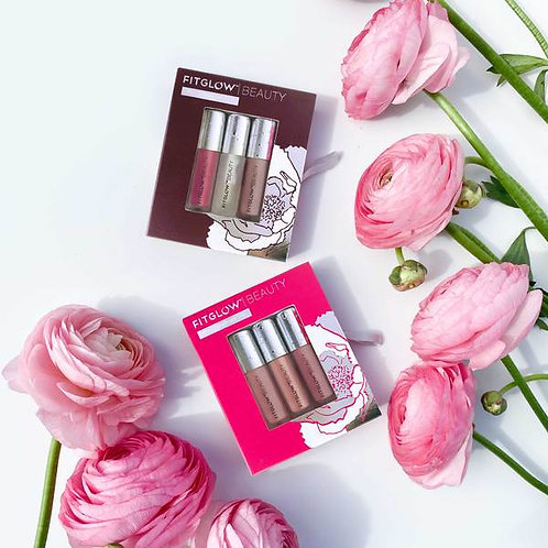 Travel Lip Trio by FITGLOW
