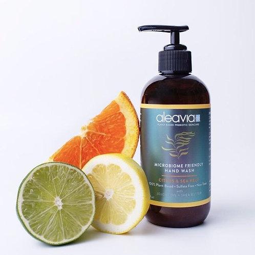 Citrus & Sea Kelp Microbiome Friendly Hand Wash by ALEAVIA