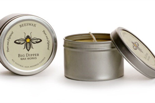 Pure Beeswax Tin by BIG DIPPER WAX WORKS
