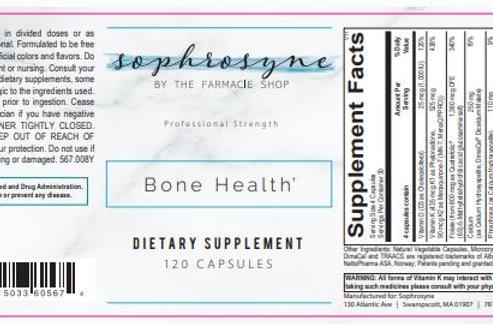 Bone Health by SOPHROSYNE