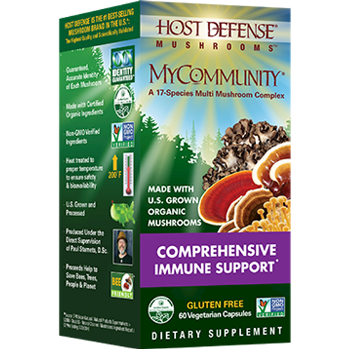 MyCommunity Capsules by HOST DEFENSE MUSHROOMS