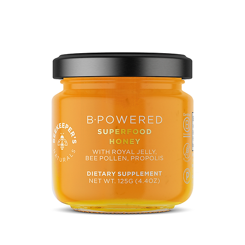 B.Powered Superfood Honey by BEEKEEPER'S NATURALS
