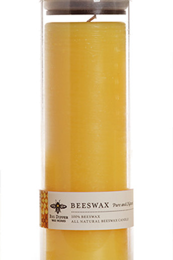 Pure Beeswax Sanctuary Glass by BIG DIPPER WAX WORKS