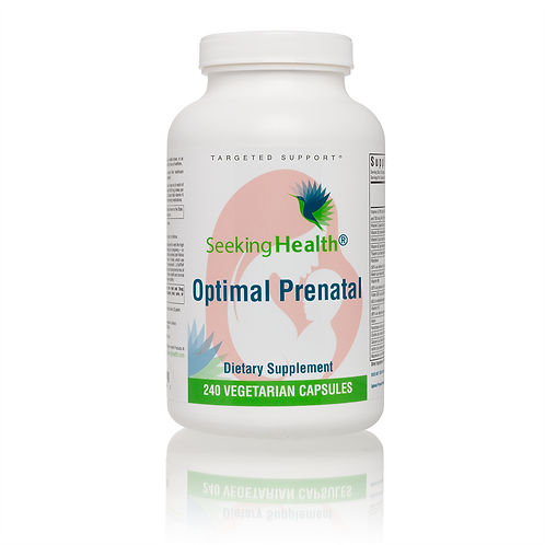 Optimal Prenatal by SEEKING HEALTH