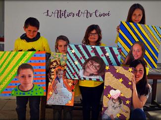 STAGE Autoportrait d'enfants