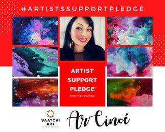#ArtistSupportPledge