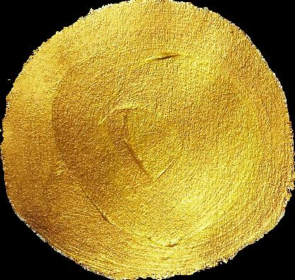 Canva - Gold Metallic Circle Brushtroke_