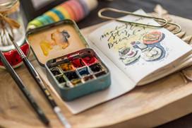Cours d'aquarelle technique et créative