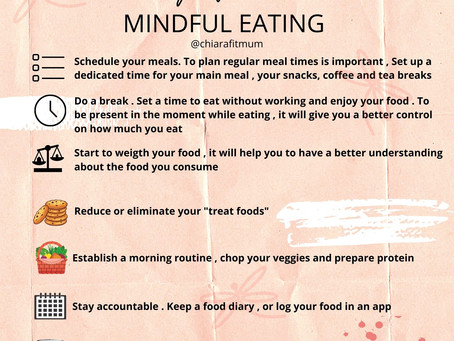 Mindful eating while working from home
