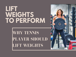 Why tennis players should lift weights