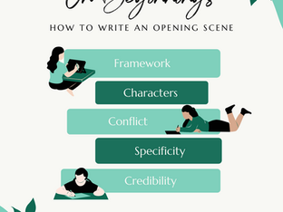 On Beginnings: How to Write an Opening Scene