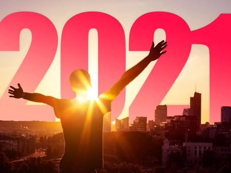 祝愿 2021 新氣象! 身心都更新!