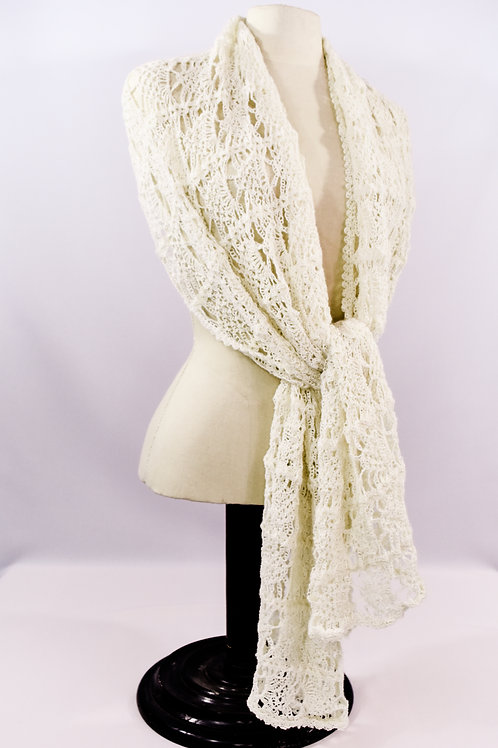 Faint Lace Shawl