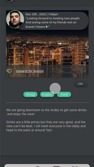 Eventi UX/UI Design