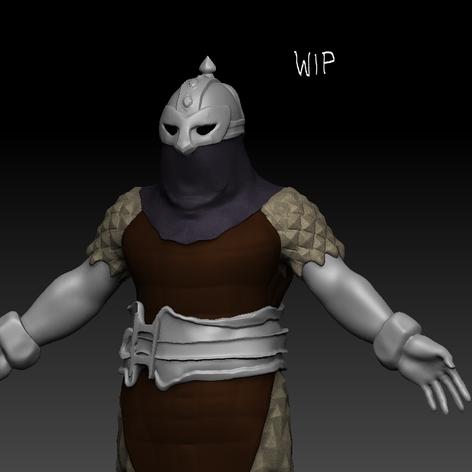 bounty hunter from darkest dungeon