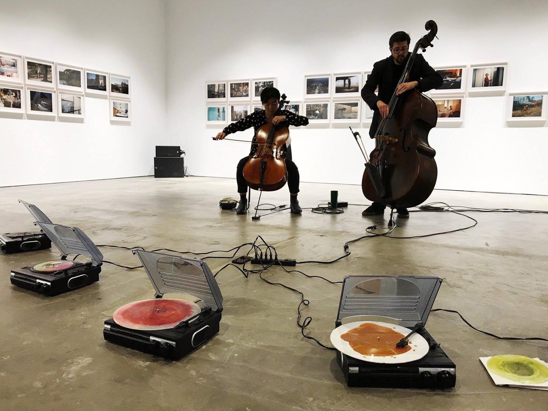 McEvoy Instalation - Theresa Wong and Jeff Denson