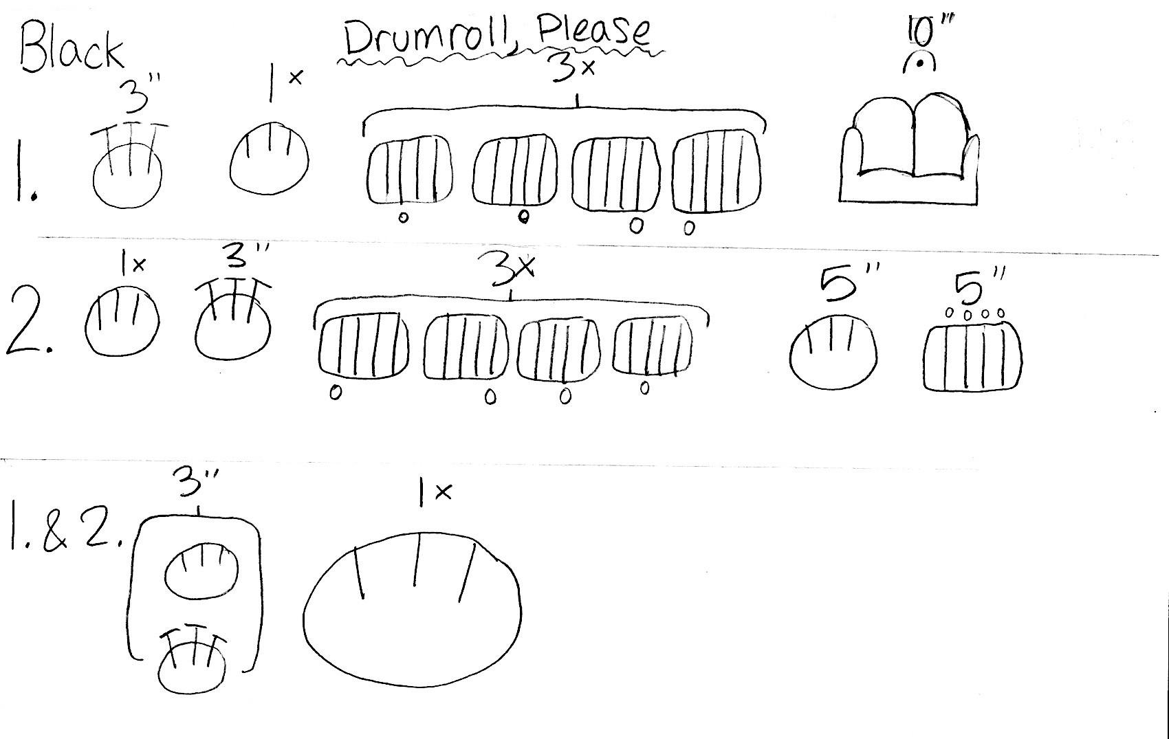 Drumroll Please (Black Level)