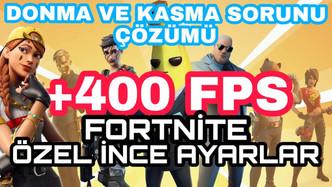 FORTNİTE FPS ARTTIRMA 2020