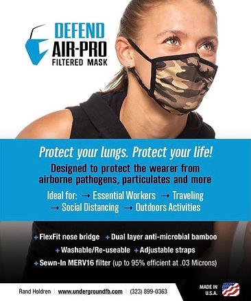 Defend Air-Pro Sheet