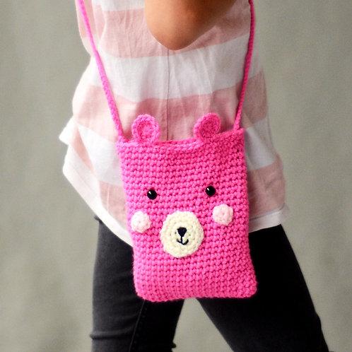 Crochet kit: BEAR BAG