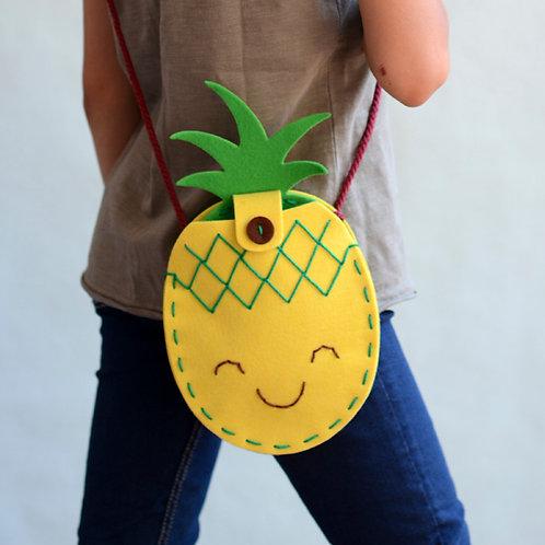 Sewing Kit: PINEAPPLE Bag