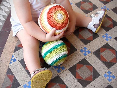 Crochet Rattle: BALL