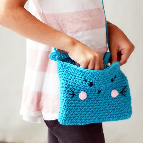 Crochet kit: BUNNY BAG