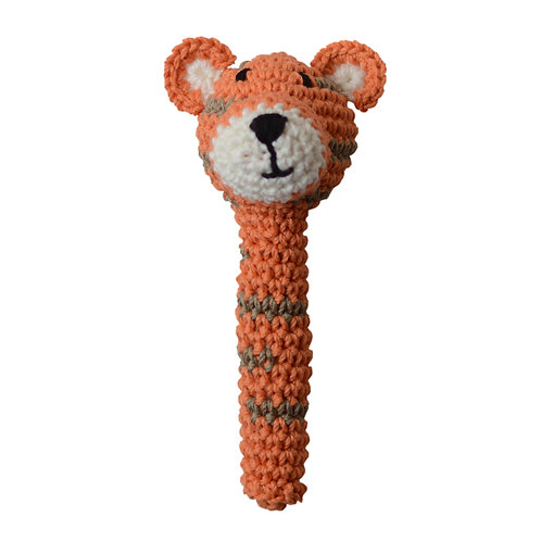 Crochet Rattle: TIGRE
