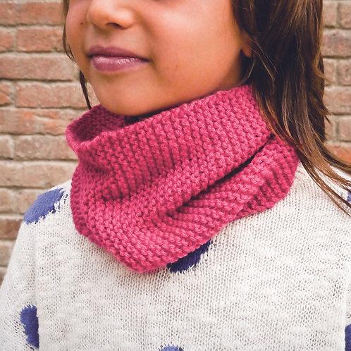Knitting Kit: NECK WARMER