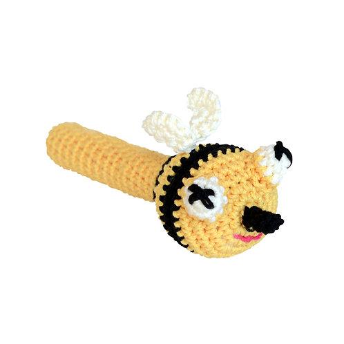 Crochet Rattle:BEE