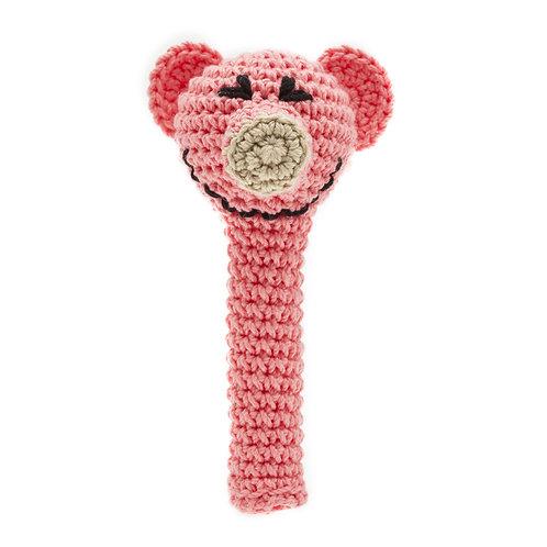 Crochet Rattle: PIG