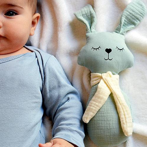 Organic RATTLE: Bunny