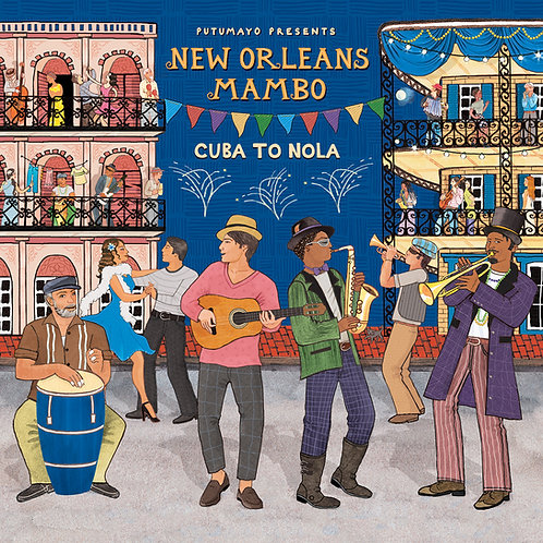 382 - New Orleans Mambo (CD + Download Card)