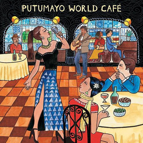 384 - Putumayo World Café (Includes CD + Download Card)