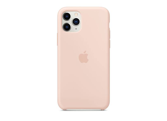 iPhone 11 Pro Max - Apple Silicone Case/Pink Sand