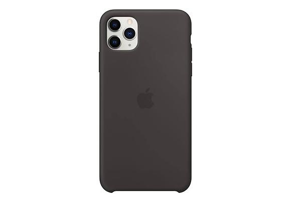 iPhone 11 Pro Max - Apple Silicone Case/Black