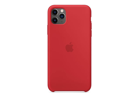 iPhone 11 Pro Max - Apple Silicone Case/(PRODUCT)RED